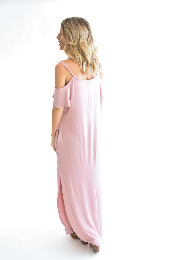 Day To Night Maxi In Blush