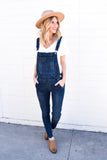 Hayden Medium Denim Overalls