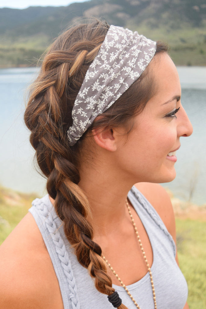 Colorado Chic Wide Floral Headband