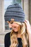 Chic Powder Day Beanie Charcoal