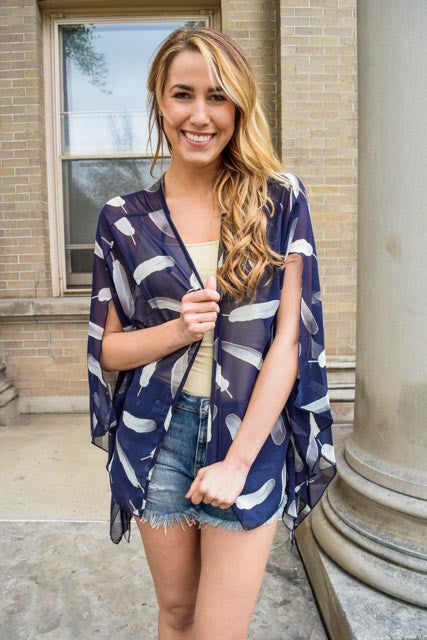 Affordable Online light as a feather kimono
