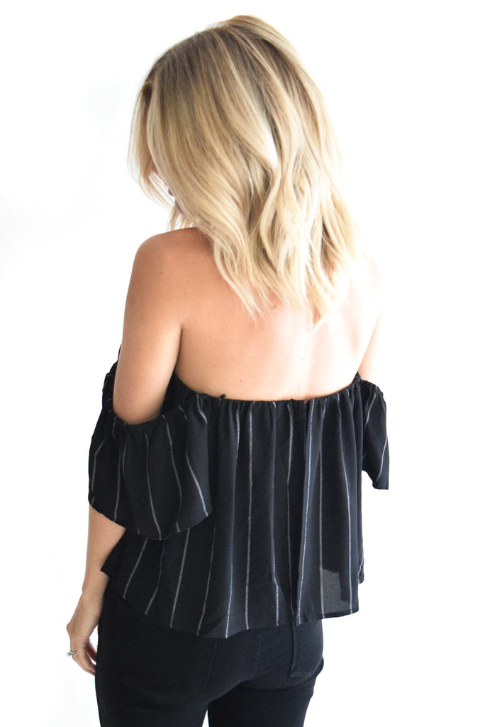 Night Out Off The Shoulder Top