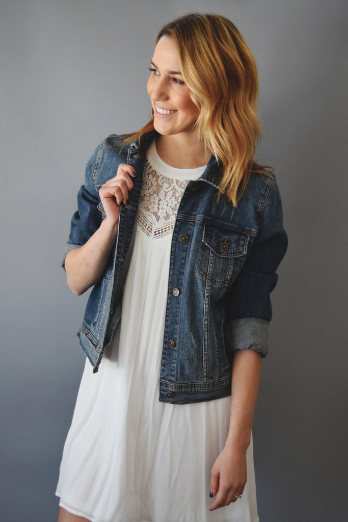 Trendy Washed Jean Jacket
