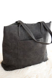 Olivia Carry All Tote In Charcoal