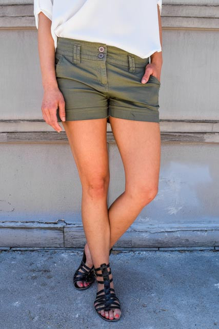 Womens Online olive you too shorts