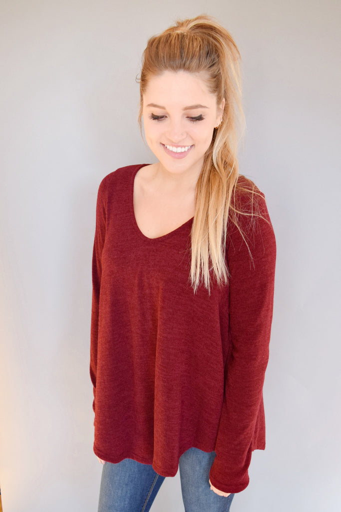 Trendy granby sweater burgundy