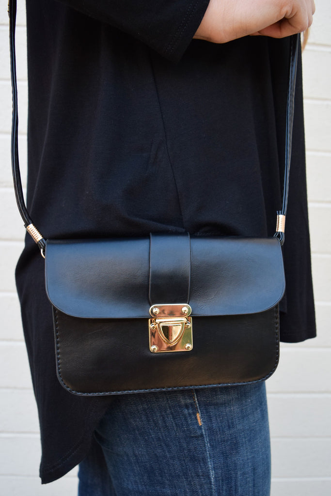 Affordable vegan leather mini crossbody