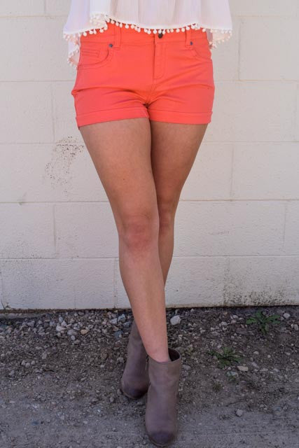 Affordable Online solid colored shorts