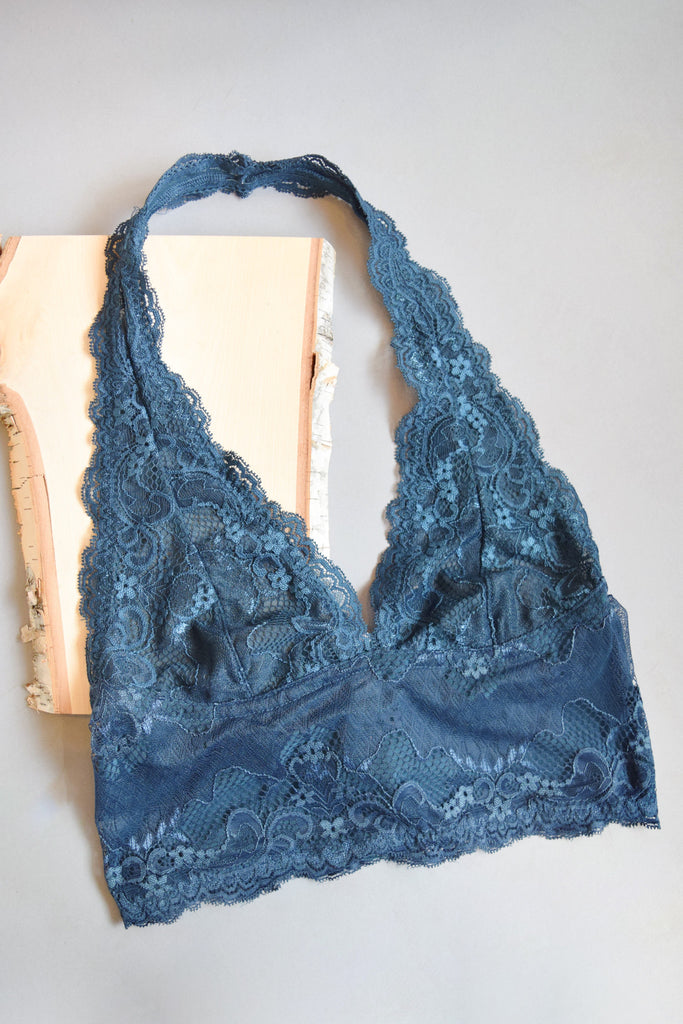 Cute Sugar and Spice Bralette Teal
