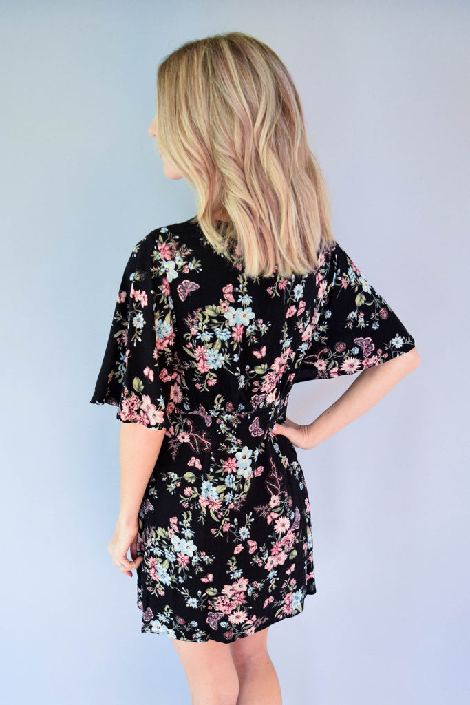 Willett Heights Floral Tie Dress