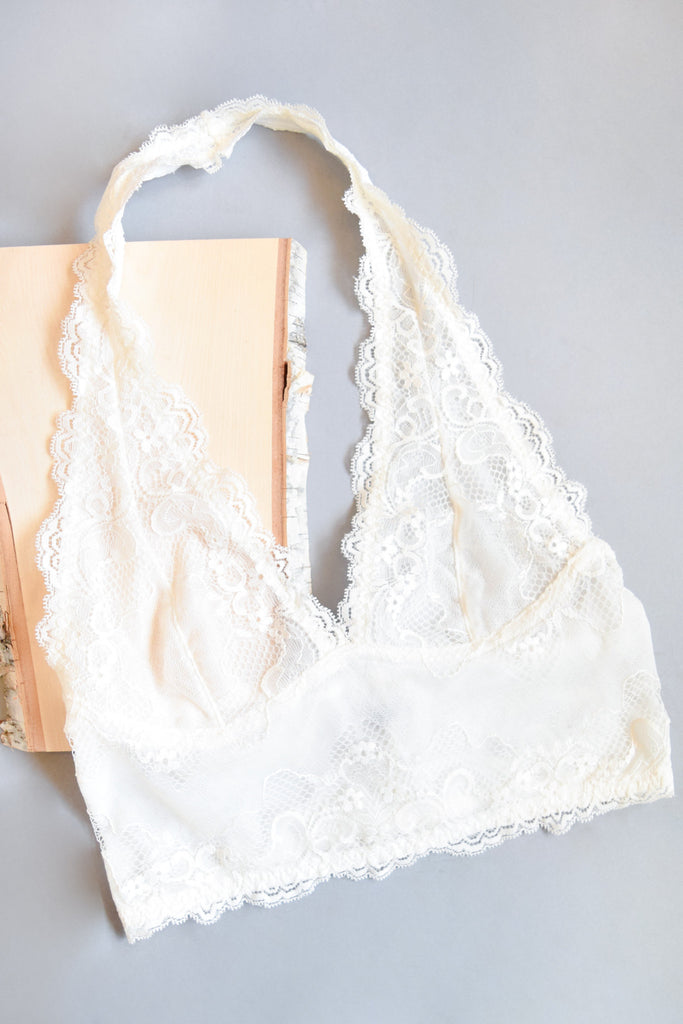 Affordable Sugar and Spice Bralette Ivory
