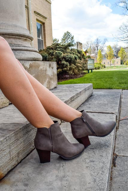 Affordable Online Everyday Grey Bootie