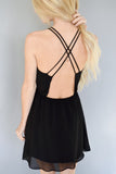 Sun Down Chiffon Dress