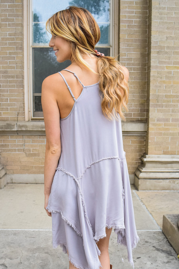 Affordable inside out tank dress