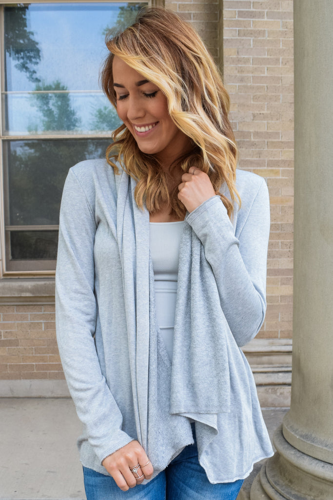 Cute Online warm sherpa cardigan