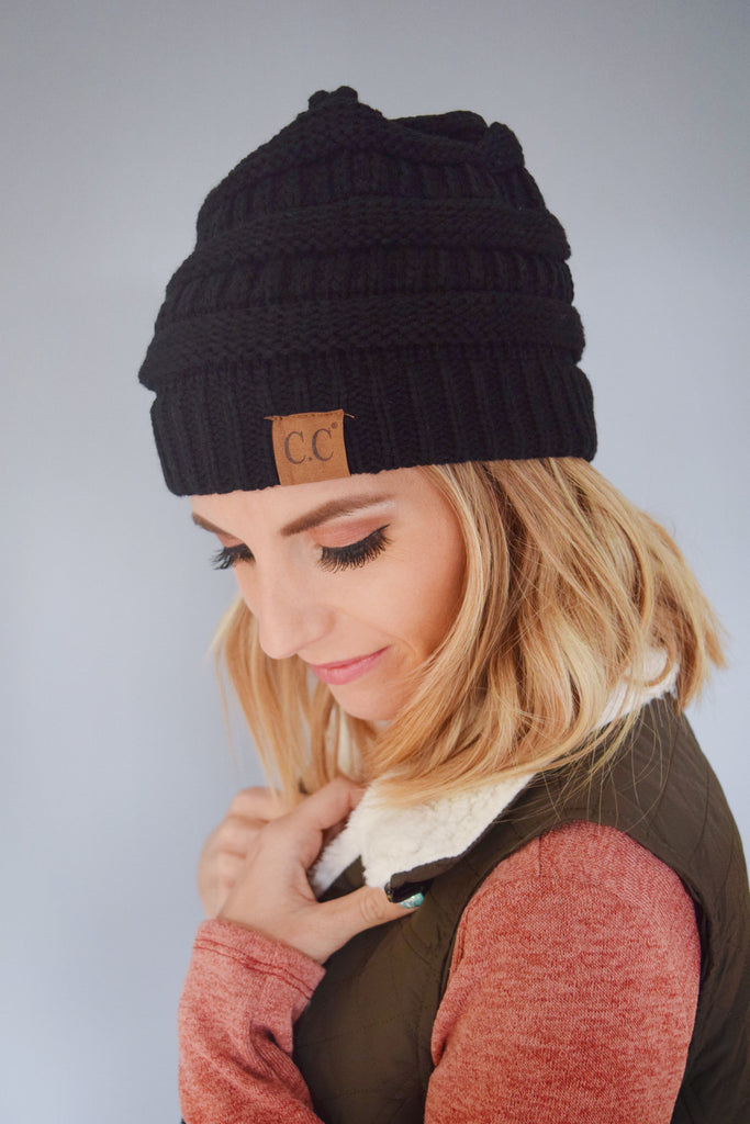 Trendy Powder Day Beanie Black