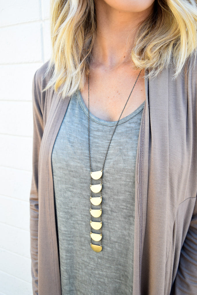 Waterfall Necklace