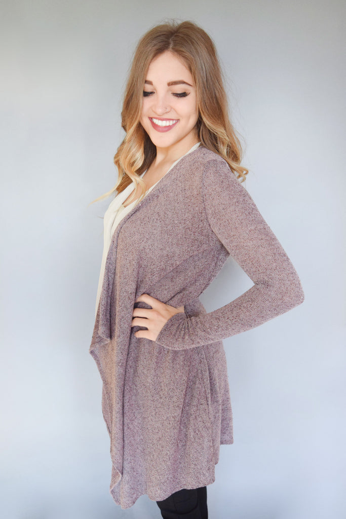 Colorado Chic woven cardigan