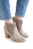 Walk My Way Bootie In Grey