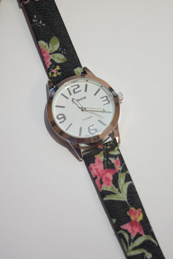 Womens Clothing Floral Watch