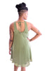 Red Rocks Dress In Green