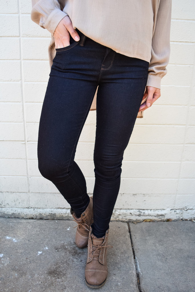 Affordable Online Everyday Dark Wash Super Skinny Jean