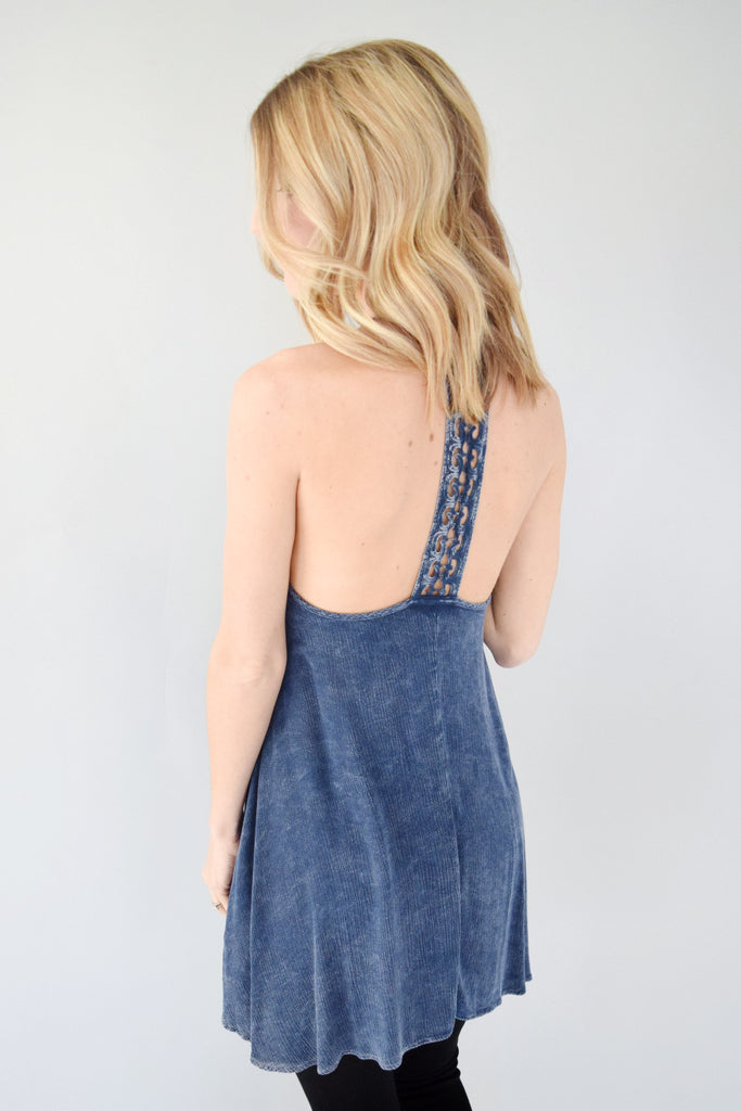 Covey Crochet Racerback Tunic