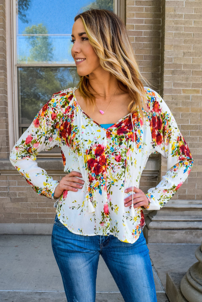 Womens Clothing colorful energy summer top