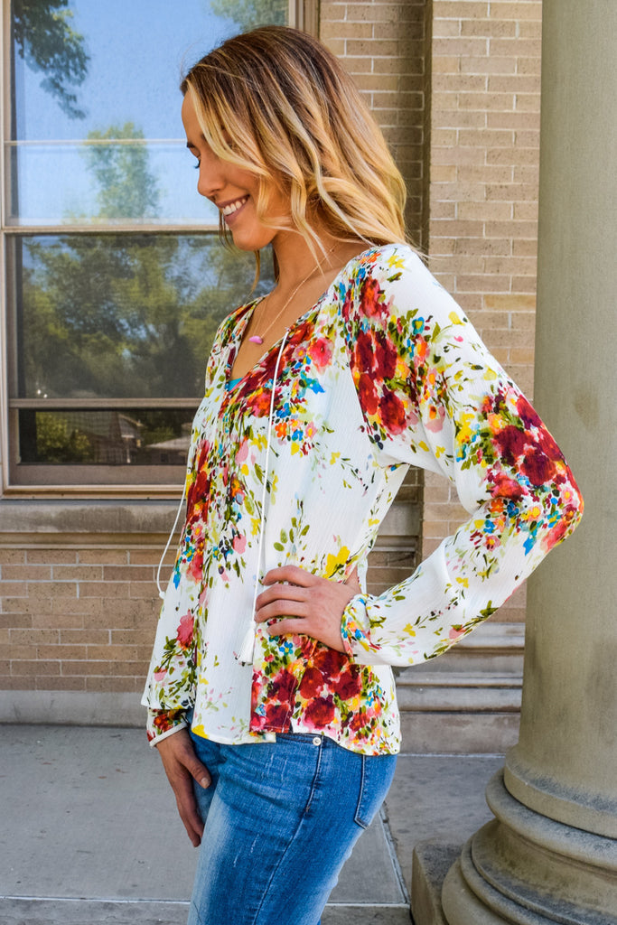 Womens Boutique Colorful Energy Summer Top