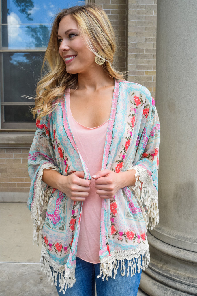Trendy Online On the Streets in Spain Kimono