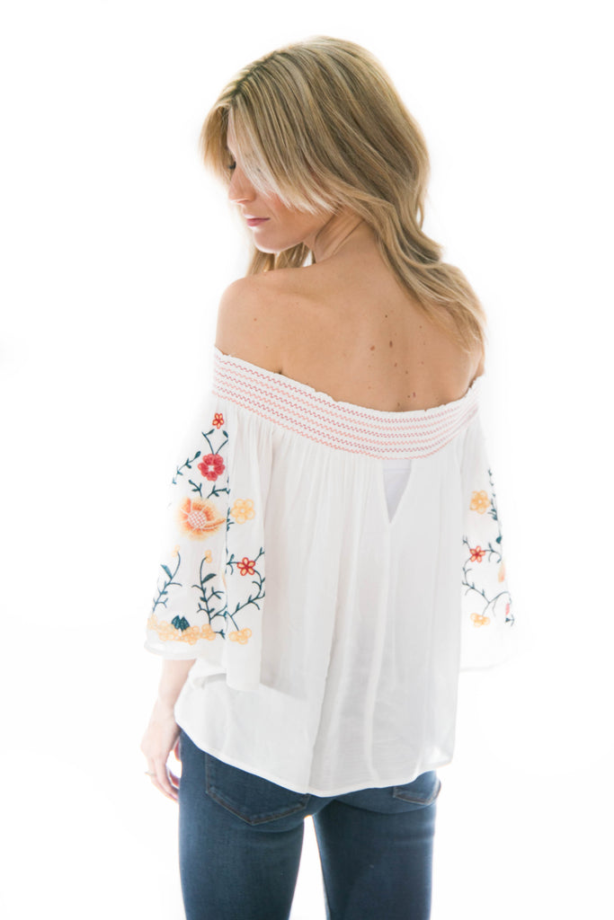 Milan Off The Shoulder Top