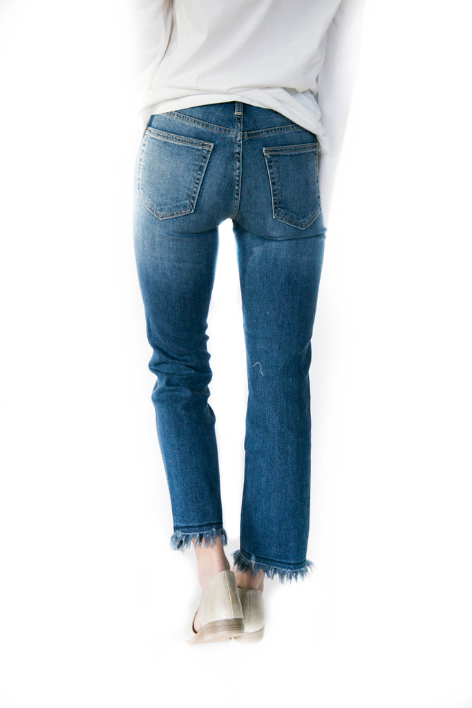 Great Heights Frayed Jean
