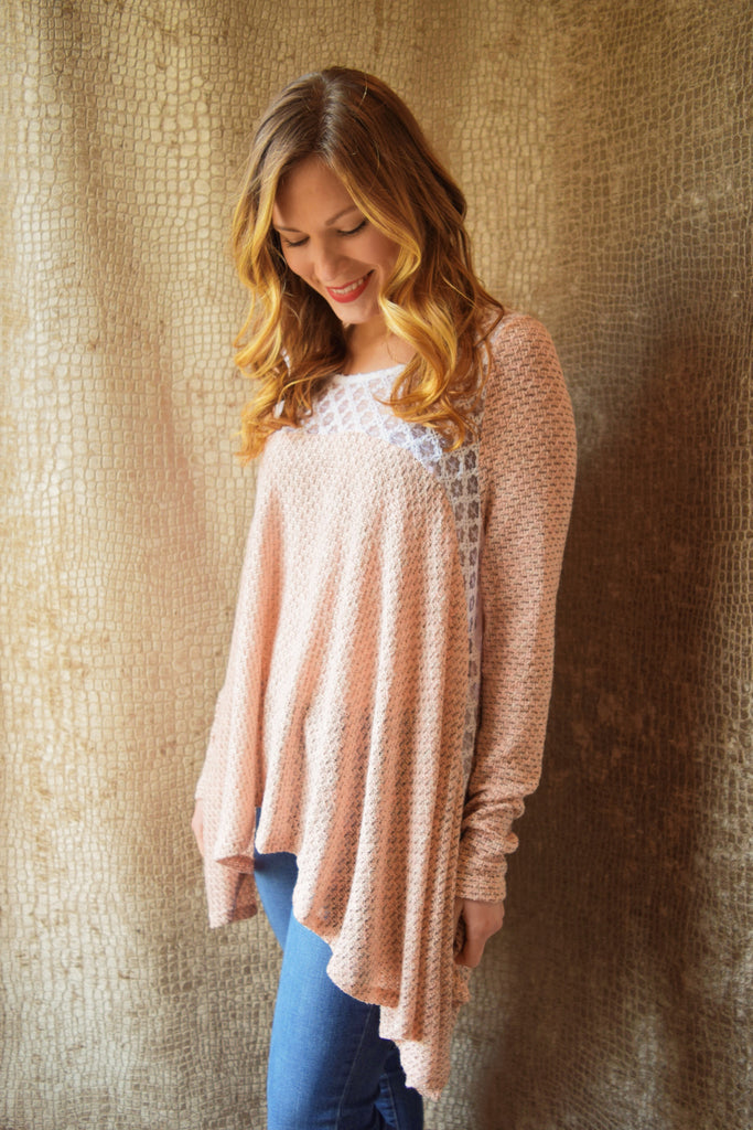 Trendy baby doll sweater 8095
