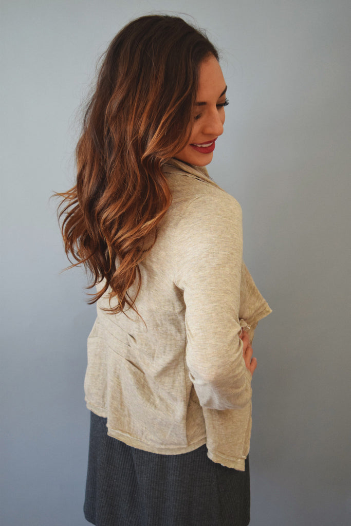 Cute mountain caravan wrap jacket