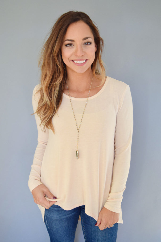 Cute madison knit top