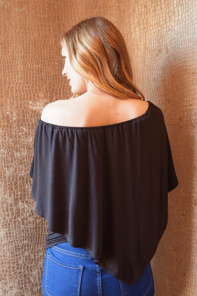 Womens Boutique 8030blackofftheshoulder