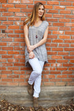 Colorado Chic Soft and Chic Grey Tank