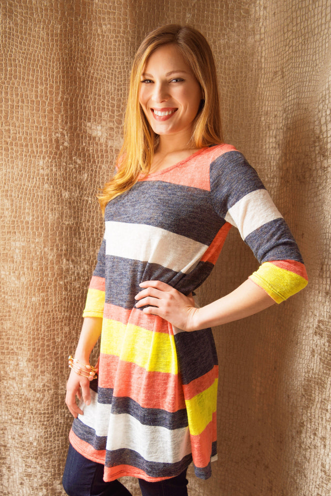 Womens Clothing stripedtunic