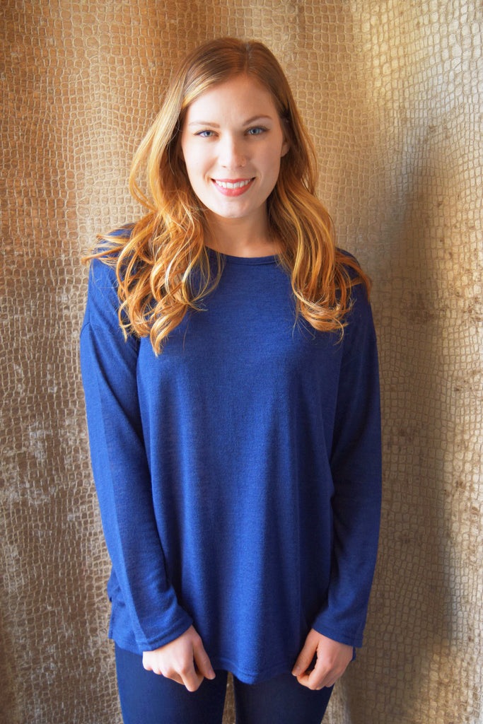 Womens Online 60navy spring sweater
