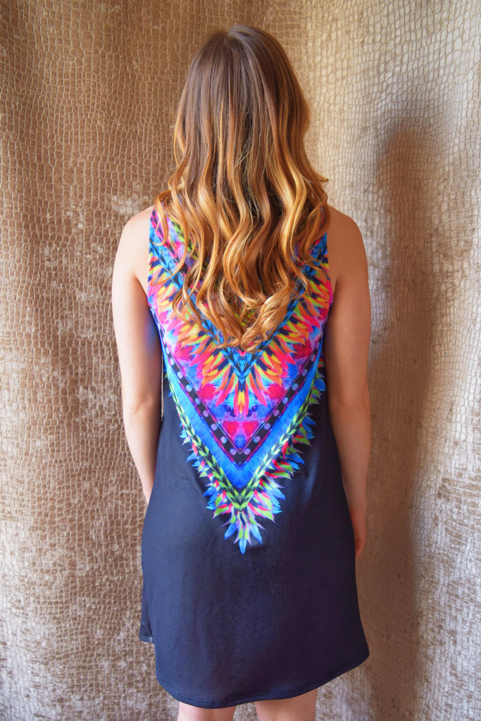 Chic have a blast colorful dress