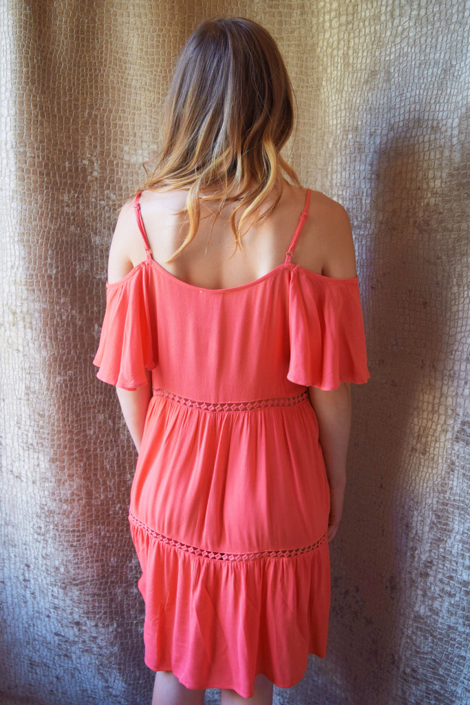 Womens Online love yourself tiered dress