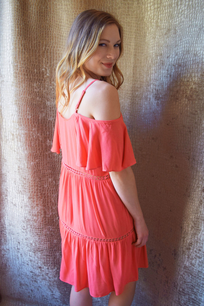 Affordable love yourself tiered dress