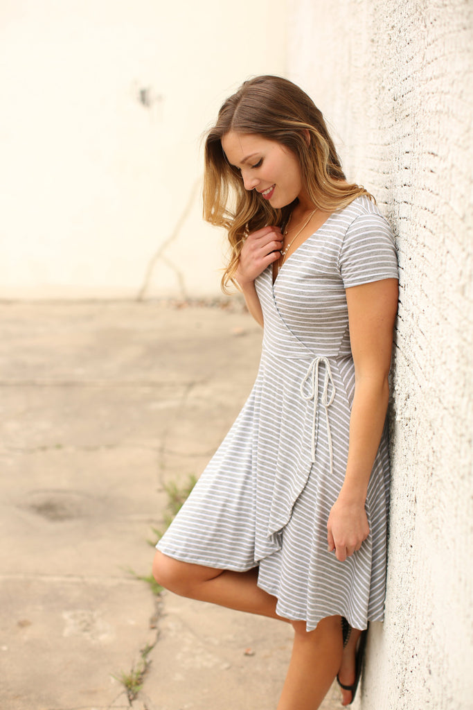 Womens Online Nothing Short of Amazing Stripe Dress