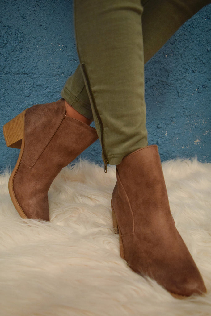 Affordable Online skyline taupe bootie