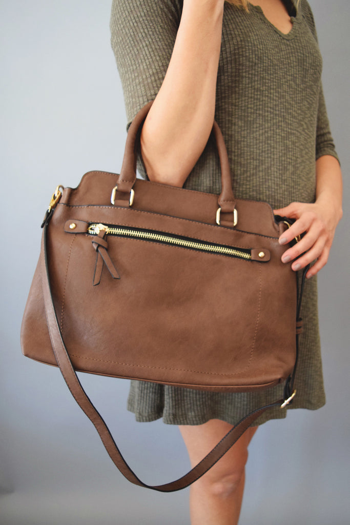 Womens Online west end cognac shoulder bag
