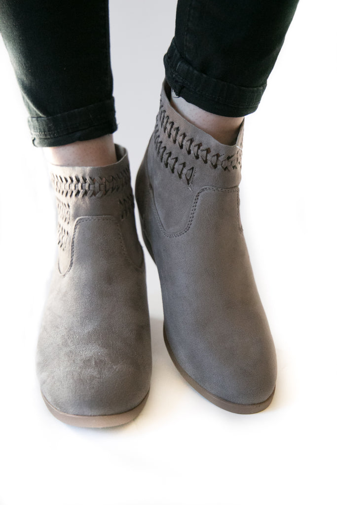 Payton Bootie In Gray