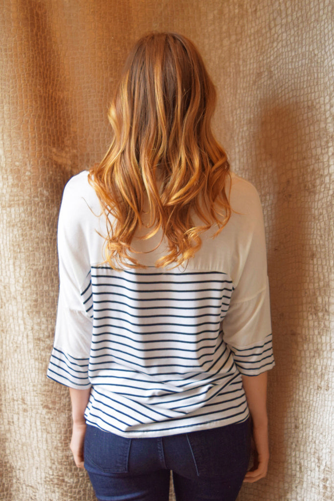 Cute Online simple stripe top