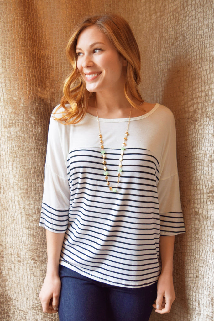 Womens Online simple stripe top