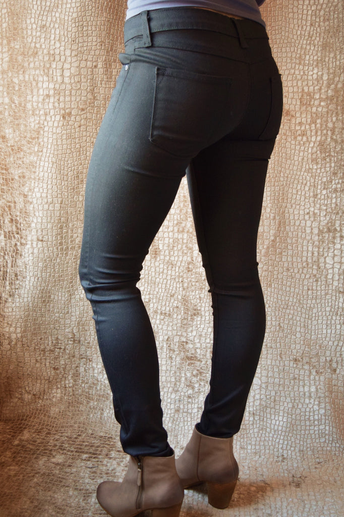 Cute INCREDIBLY SOFT BLACK JEGGING
