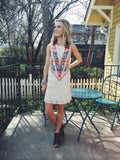 Cute TRULY TRIBAL LACE DRESS